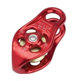 DMM Pinto Pulley Seilrolle rot