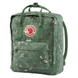 Fjällräven Kanken Art green fable