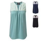 Sherpa Maya Sleeveless Embroidery Top Frauen