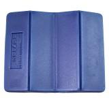 Basic Nature Faltkissen / Sitzkissen PE 28 x 35 cm blau