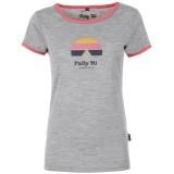 Pally'Hi T Shirt Women Tentative heather grey Größe XL