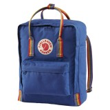 Fjällräven Kanken Mini Rainbow Deep Blue-Rainbow Pattern 527-907