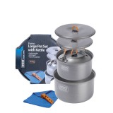 360 Degrees Furno Large Pot Set with Kettle grey