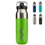 360 Degrees Wide Mouth Insulated Bottle with Sipper Cap 1 Liter Trinkflasche