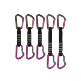DMM Shadow Sport Quickdraw Express-Set titanium/purple 5 Pack 3x12 cm, 2x18 cm