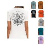 Tinta Alpina T-Shirt Holy Chalk Print Unisex