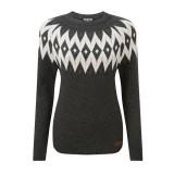 Sherpa Kopan Women Crew Sweater Pullover Frauen