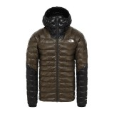 The North Face Summit L3 Down Hoodie new taupe green Größe M