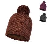 Buff Knitted & Polar Hat Agna Mütze