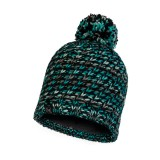 Buff Knitted & Polar Hat Valya turquoise