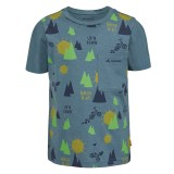 Vaude Kids Tammar AOP T Shirt Kinder