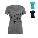 Icebreaker Tech Lite SS 150 Scoop Women T-Shirt Frauen