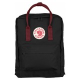 Fjällräven Kanken Black / Ox Red 550-326