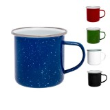 Origin Outdoors Emaille Tasse