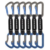 DMM Shadow Quickdraw Express-Set titanium/blue 6 Pack 12 cm