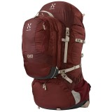 Haglöfs OXO Travel Q 60 marmite/mellow red