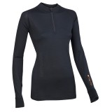 Ortovox Merino 185 Long Sleeve Zipper Women Unterwäsche Frauen
