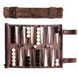 Sondergut Reise Backgammon mocca oder cream