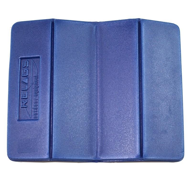 8 cm Relags Sitzkissen blau PE 28 x 35 x 0