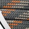 Barth Schnürsenkel halbrund 180 cm orange/grau