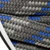 Barth Schnürsenkel halbrund 180 cm hellgrau/dunkelgrau/blau