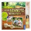 Opinel Meine Schnitzwerkstatt Buch mit Opinel Kindermesser