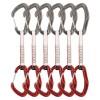 DMM Alpha Trad Quickdraw Express-Set 6 Pack titanium/red 12 cm