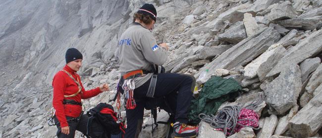 Mont K - Kletterfahrten
