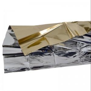 Basic Nature Rettungsdecke Gold/Silber