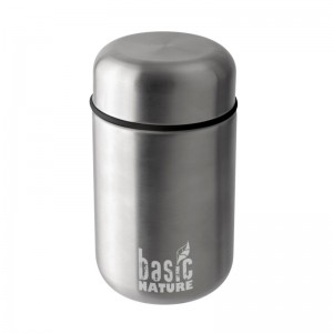 Basic Nature Thermobehälter 0,4 L Edelstahl