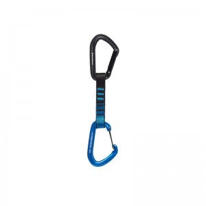 Black Diamond Hotforge Hybrid Quickdraw 12cm blue