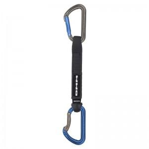 DMM Shadow Quickdraw Express-Set titanium/blue 18 cm
