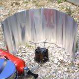 Basic Nature Alu Windschutz rollbar