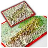 Georelief Reliefpostkarten