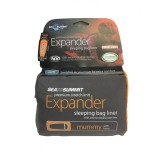 Sea To Summit Premium Stretch Expander Liner Mummy with Hood pacific blue