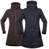 Bergans Bjerke 3in1 Lady Coat outer dark navy/inner cocoa melange L