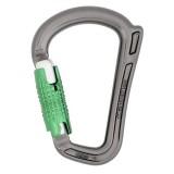 DMM Rhino Karabiner Locksafe titanium/green