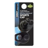 360 Degrees Sports Cap black