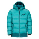 Marmot Girl's Sling Shot Jacket patina green/deep teal Größe S 128 (6-7 Jahre)