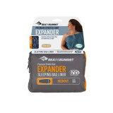Sea To Summit Expander Liner Mummy with Hood navy blue