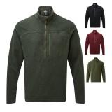 Sherpa Rolpa Zip Tee Pullover Männer