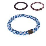 Sherpa Mayalu Two Color Roll On Bracelet Armband