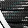 Barth Schnürsenkel halbrund 180 cm grau/schwarz/grün