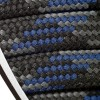 Barth Schnürsenkel halbrund 180 cm grau/blau/schwarz