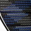Barth Schnürsenkel Bergsport flach 180 cm grau/blau/schwarz